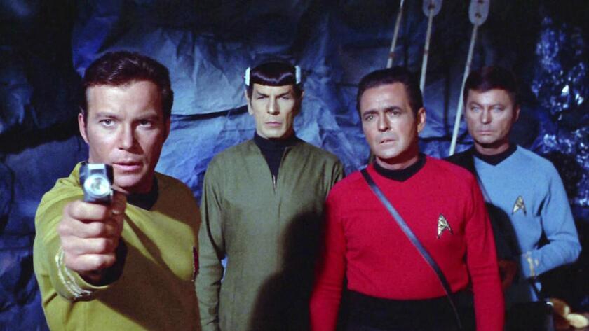 """La serie original de TV """"Star Trek"""" se sumergía ocasionalmente en la música de su tiempo (CBS, a través de Getty Images)."""