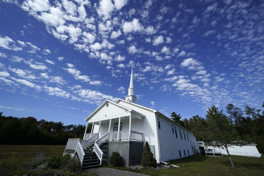 Several COVID-19 deaths have been linked to an Aug. 7 wedding at the Tri Town Baptist Church in East Millinocket, Maine