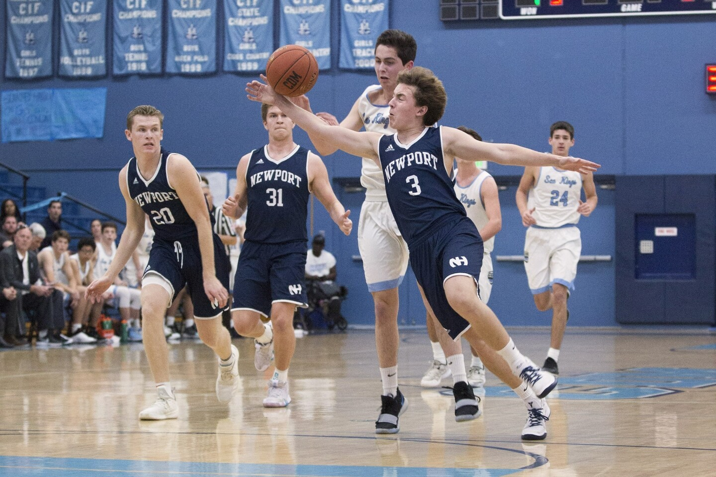 Photo Gallery: Newport Harbor vs. Corona del Mar in boys' basketball