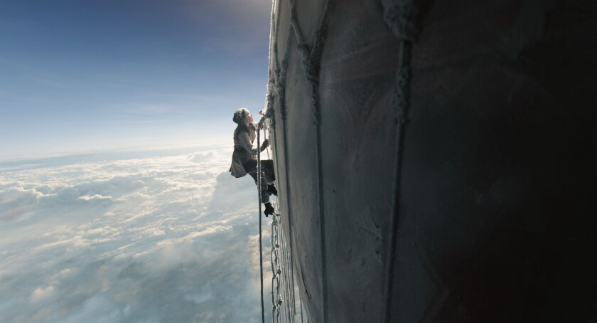 "Felicity Jones in ""The Aeronauts"""