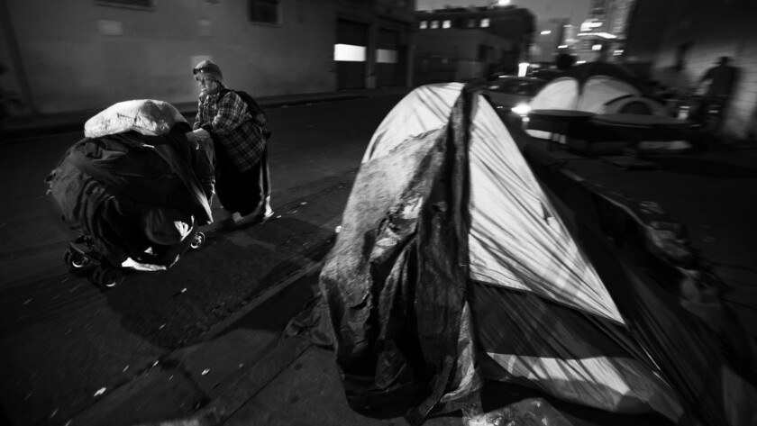 Scenes of Homelessness - Los Angeles Times