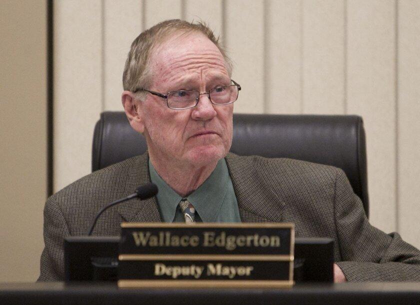 Councilman Wallace Edgerton