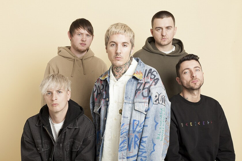 A photo of Bring Me The Horizon