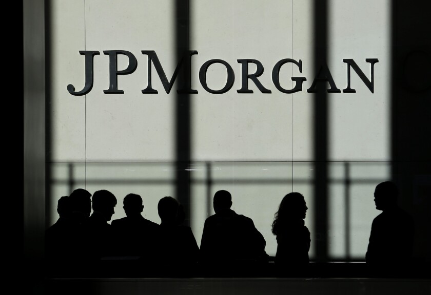 The JPMorgan Chase headquarters in New York.