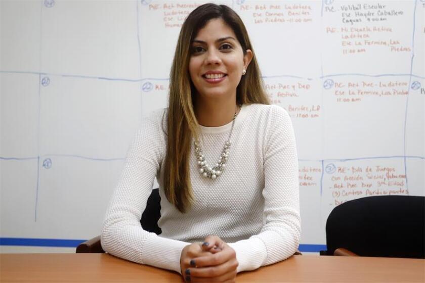 La secretaria del Departamento de Recreación y Deportes (DRD) de Puerto Rico, Adriana Sánchez, firmó una orden administrativa en beneficio de la mujer deportista para fomentar la participación femenina en la actividad física. EFE/Archivo