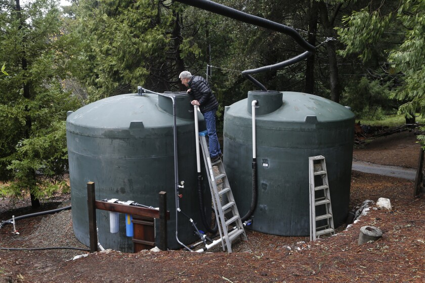 A bill in the California Legislature would exclude rainwater capture systems from property tax reassessments starting in 2019.