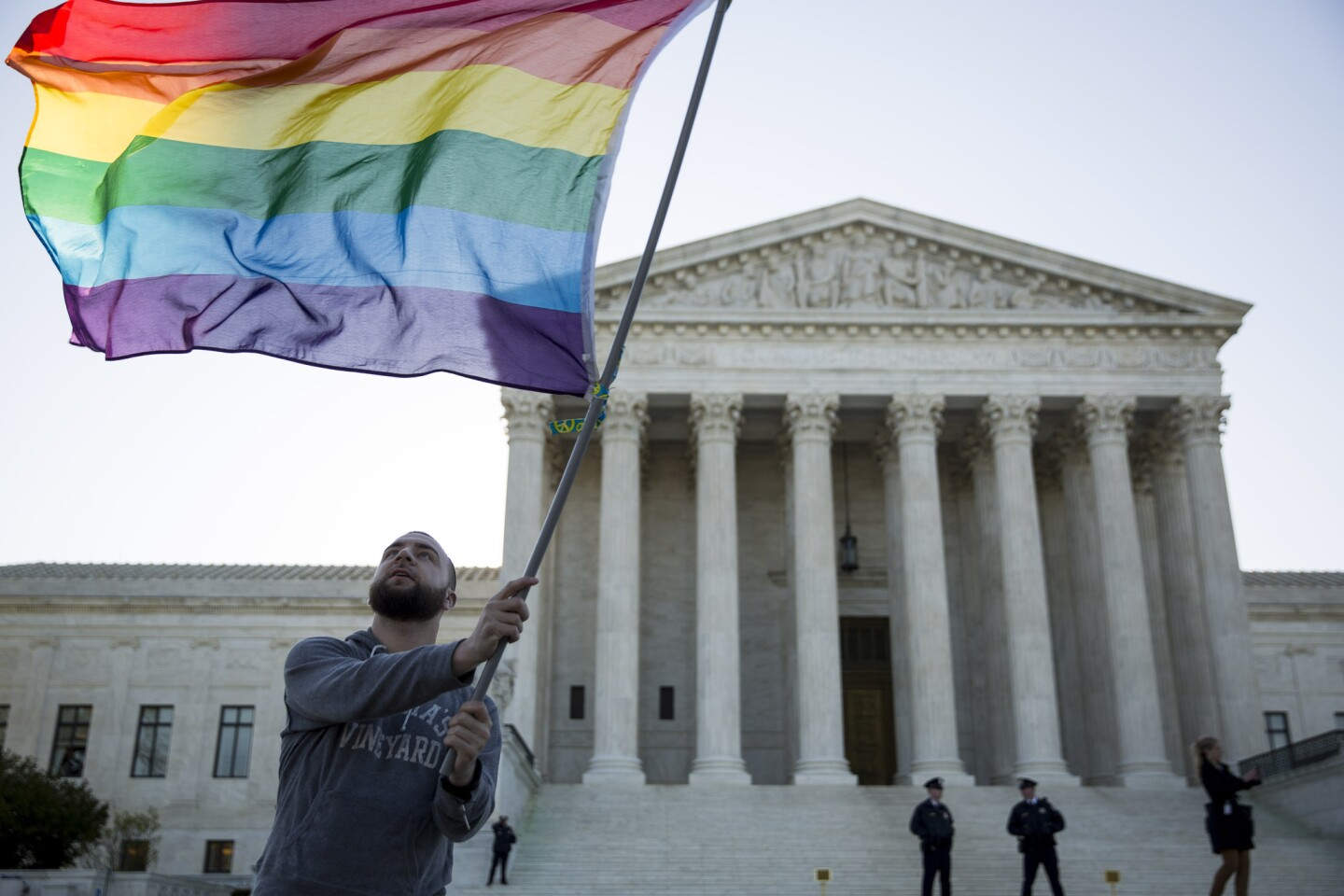 Supreme Court hears arguments on same-sex marriage