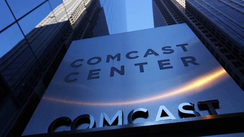 The Comcast Center, the corporate headquarters, in Philadelphia