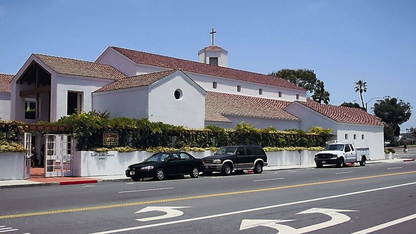 St. James the Great Episcopal Church held services at this location on Via Lido in Newport Beach until 2015. The site is under contract to be sold to developer Burnham Ward Properties.