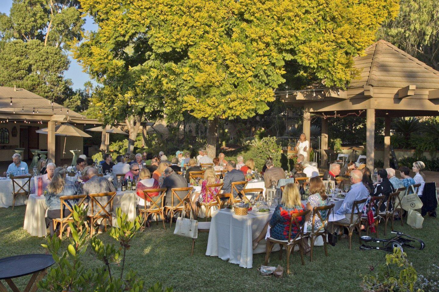 The Farm-to-Table event was hosted at the RSF Garden Club