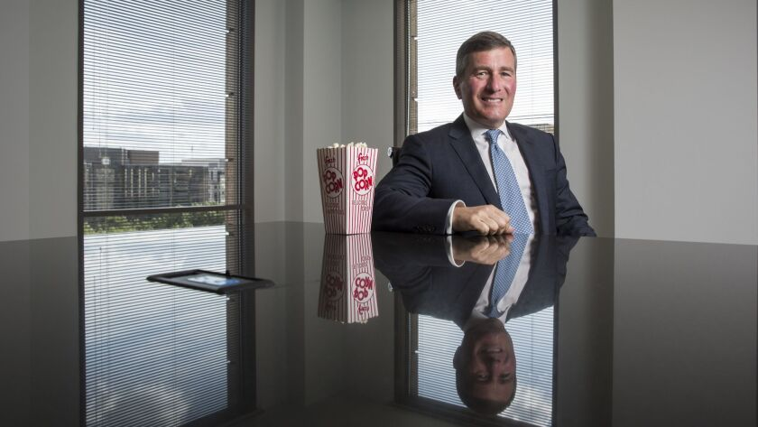 CEO of the MPAA Charlie Rivkin poses for a portrait in Washington, D.C. on August 30 2017. (Joshua R