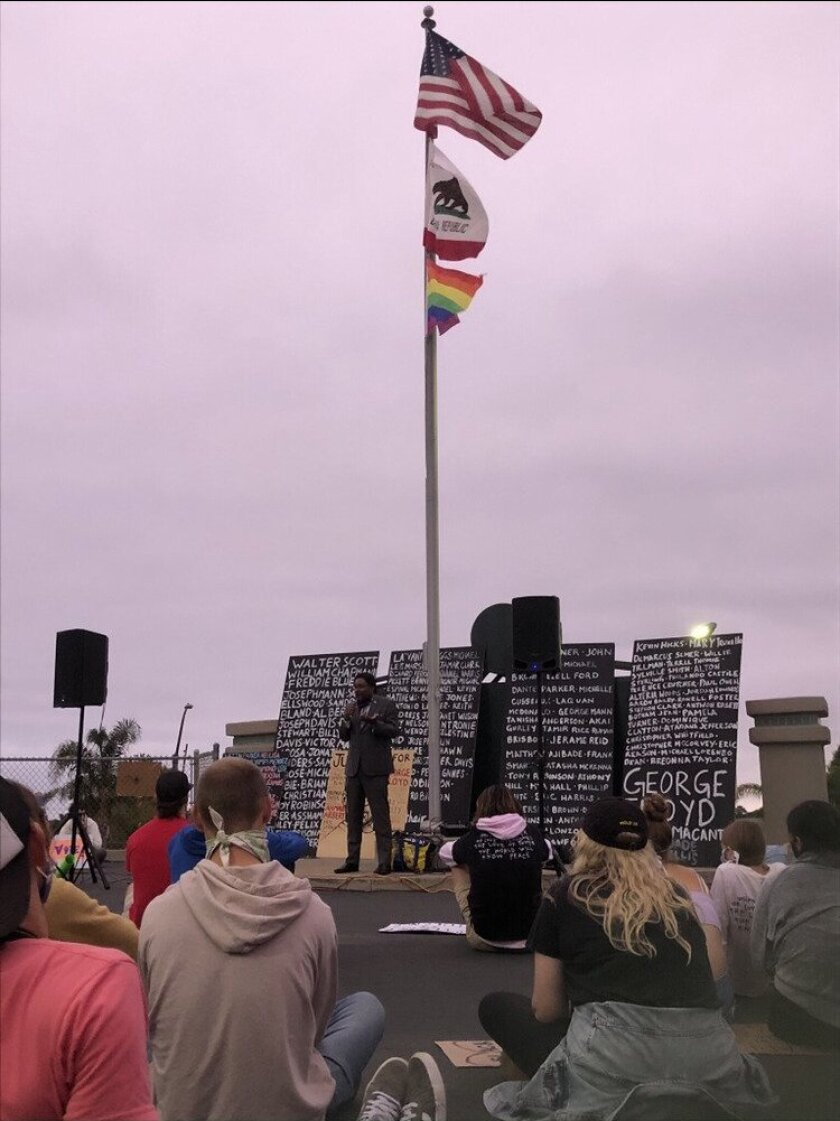 Encinitas 4 Equality started by holding gatherings at Cardiff Kook.