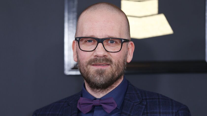 Morten Lindberg during the arrivals at the 59th Annual Grammy Awards in 2017.