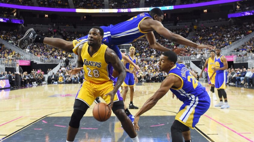 Five takeaways from the Lakers' 112-107 loss to the Warriors