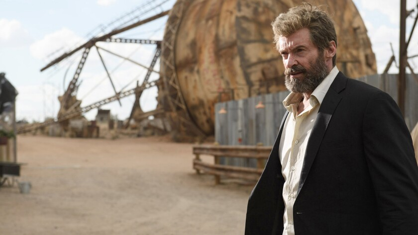 "Hugh Jackman stars as Wolverine in the 2017 ""X-Men"" franchise entry ""Logan"" airing on HBO."