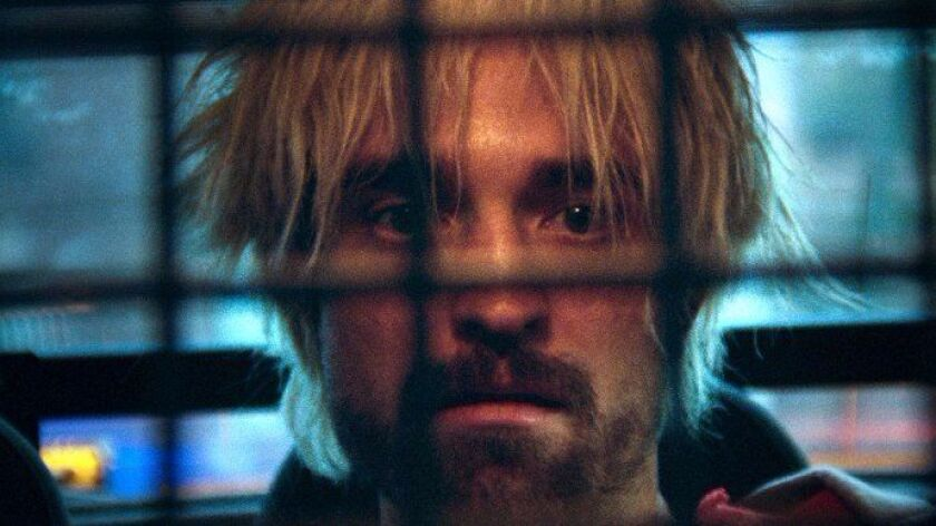 """Robert Pattinson as Connie in the film """"Good Time."""""""