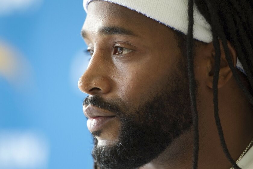 Chargers new safety Bob Sanders.
