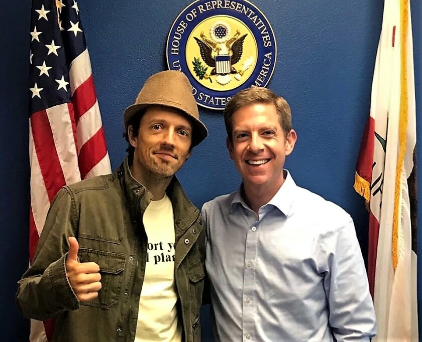 Jason Mraz and Cong. Mike Levin on Oct. 2, 2019 (2).jpg
