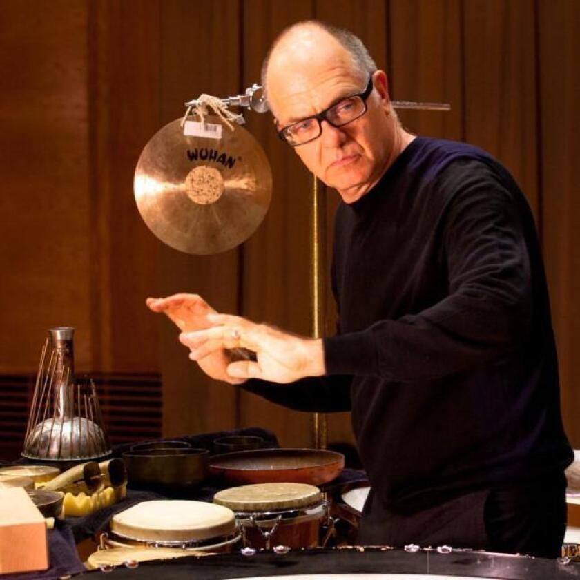 UCSD Distinguished Professor of Music and noted percussionist Steven Schick is in his 12th year as music director for the La Jolla Symphony & Chorus.