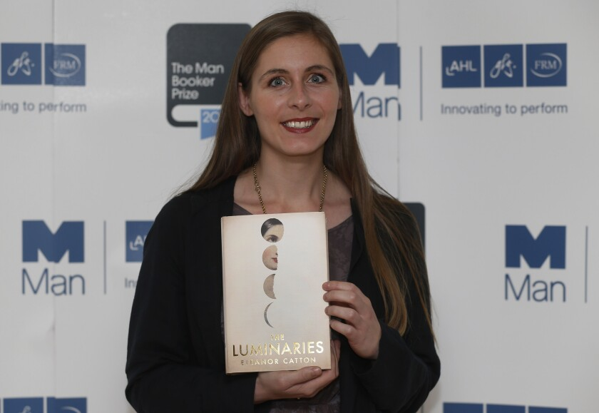 """Eleanor Catton, winner of the 2013 Man Booker Prize for her novel """"The Luminaries."""""""