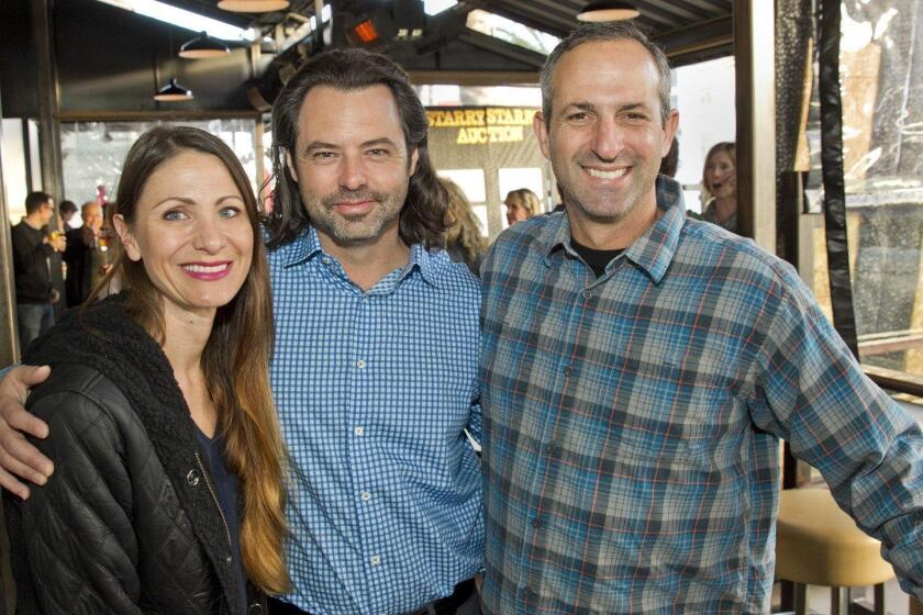 Jocelyn Hughes, Paul Milton, principal Matt Frumovitz