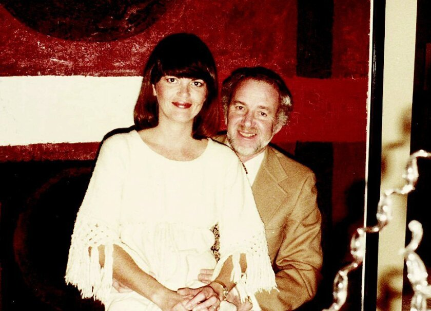 The late real estate developer William Zongker with wife Elizabeth.