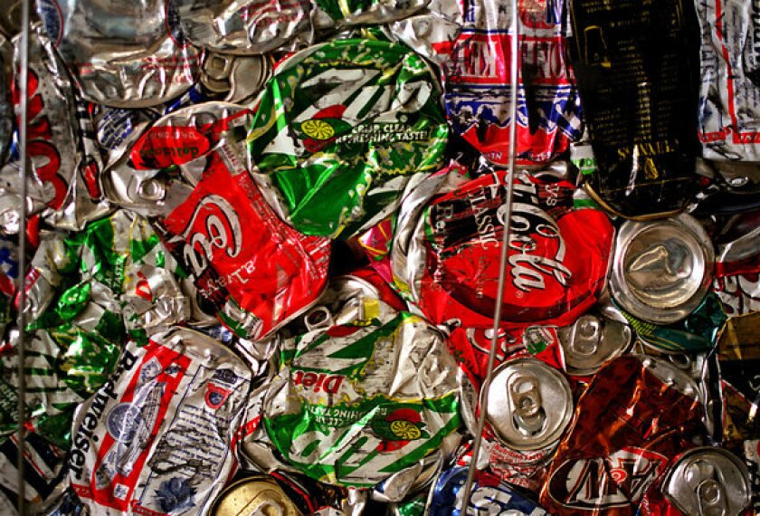 People earning extra cash by redeeming cans and other beverage containers are being hit by California's unfolding recycling crisis.