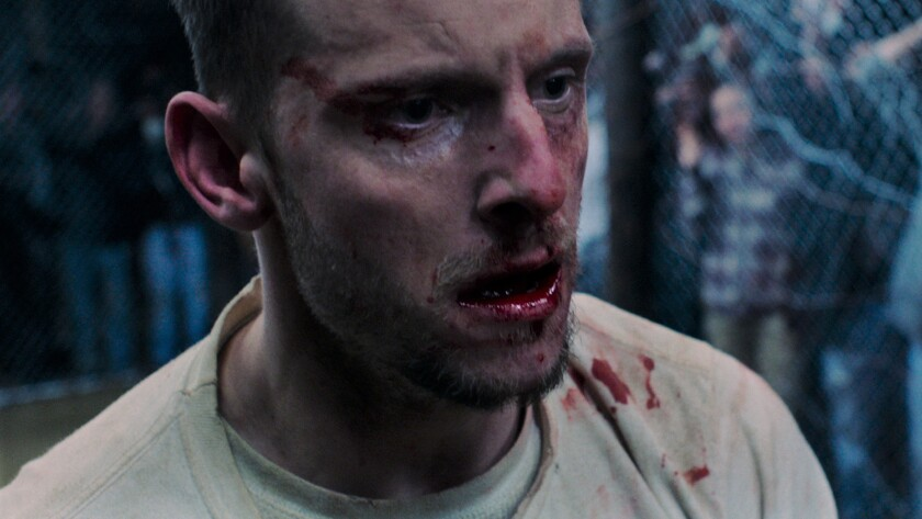 "Jamie Bell as ?Jarhead Earl? in Tim Sutton?s ""Donnybrook."" Credit: IFC Films"