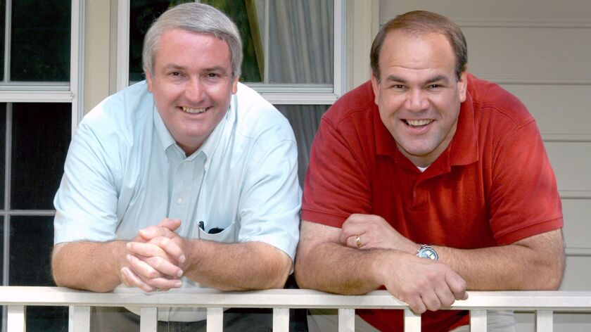 """Burbank natives Mike McDaniel (left) and Wes Clark (right) have published a new book called """"Growi"""