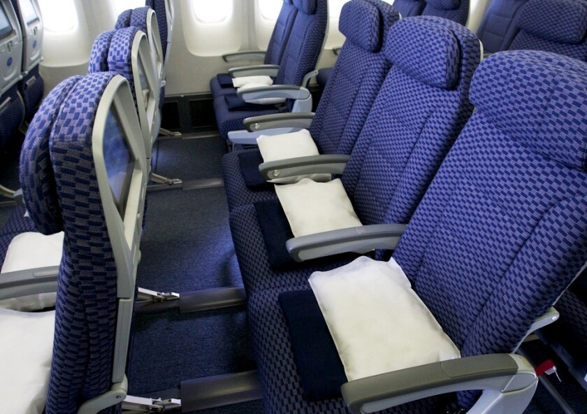 "United Airlines launched ""Economy Plus"" seats 15 years ago. Now a major airline may be considering an ""Economy Minus"" seat with less legroom."