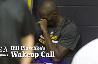 Bill Plaschke's Wakeup Call: Is Kobe Bryant in trouble already?