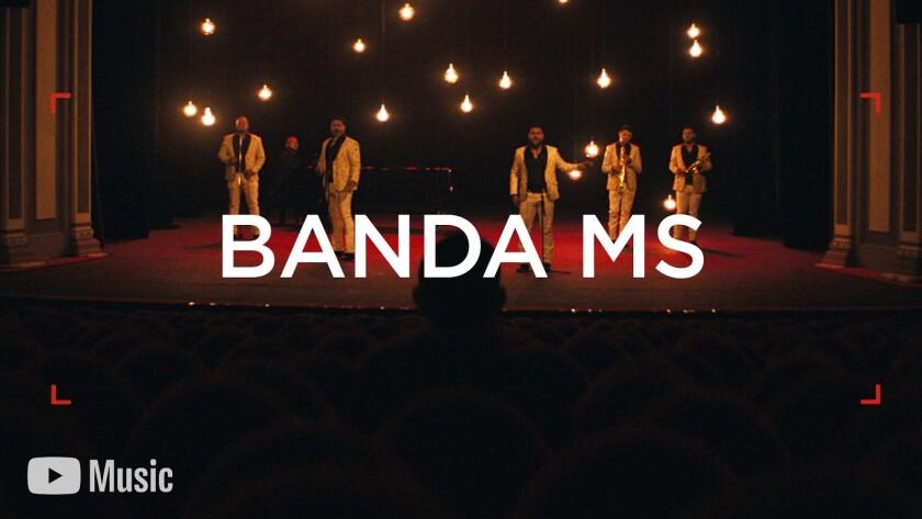 Para la Banda MS 'No Hay Límite' y eso lo demuestra en un impactante  documental de YouTube Music - Los Angeles Times