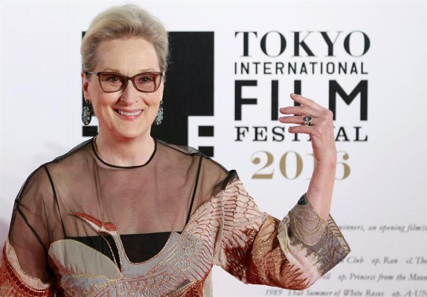 La actriz estadounidense Meryl Streep. EFE/Archivo