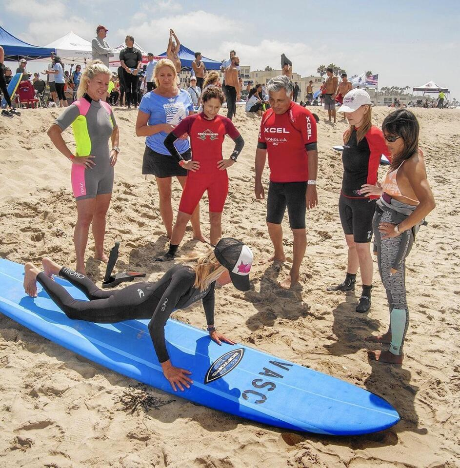 Photo Gallery: Free surf lessons for veterans