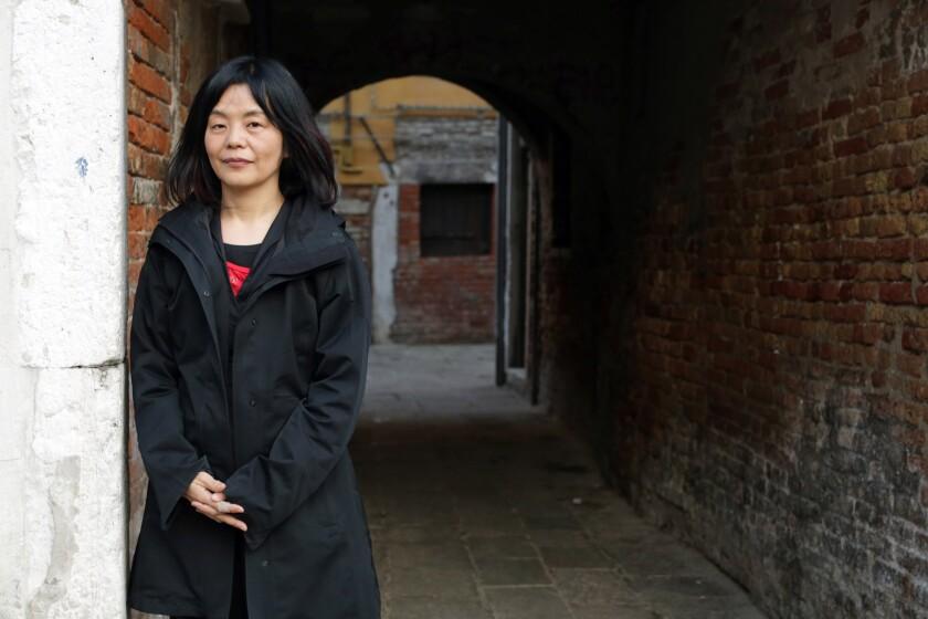 German Japanese writer Yoko Tawada.