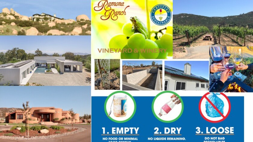 Sustainable Ramona highlights Earth-friendly practices on its website and Facebook page in celebration of Earth Day April 22.