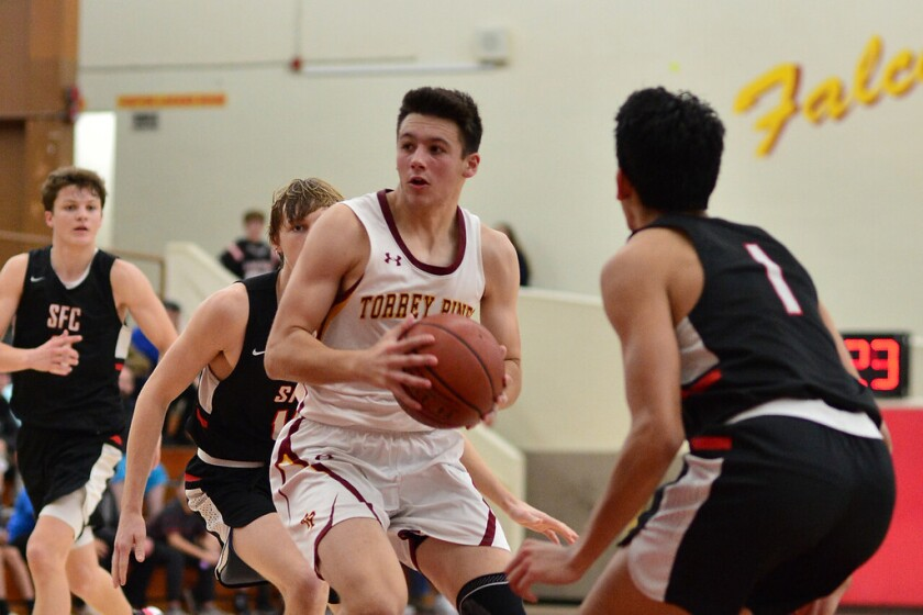 Torrey Pines triumphed over Santa Fe Christian 57-39 in a recent Titan Challenge Tournament game.