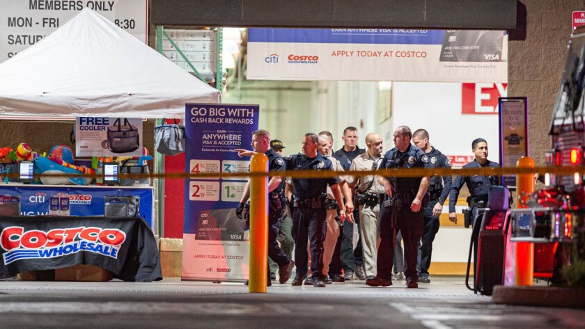 Off-duty LAPD officer opened fire at Costco, killing 1