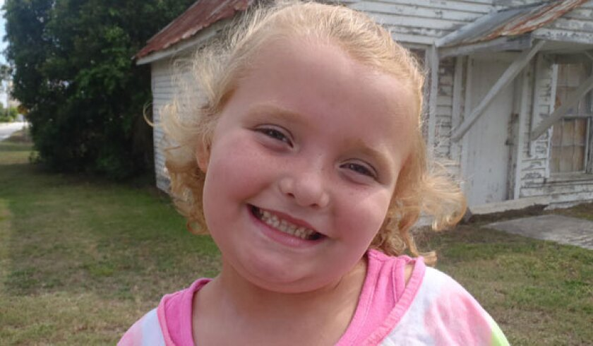 """Alana """"Honey Boo Boo"""" Thompson was in a car accident with her family on Monday night. No one was seriously injured."""