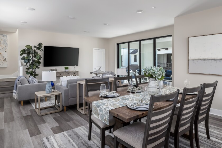 Carlyle Carlsbad Village's new single-family, detached and townhome residences now have a model open for viewing.