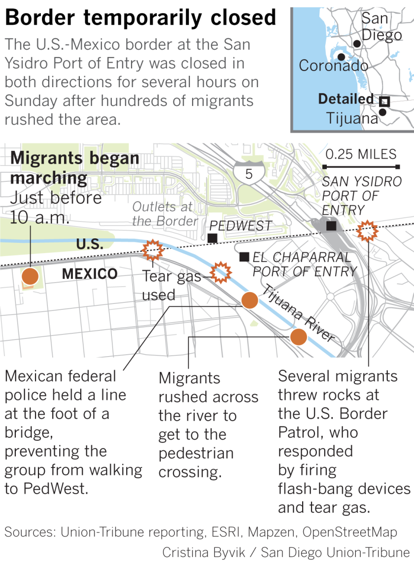 la-me-migrants-tijuana-border-protest-map