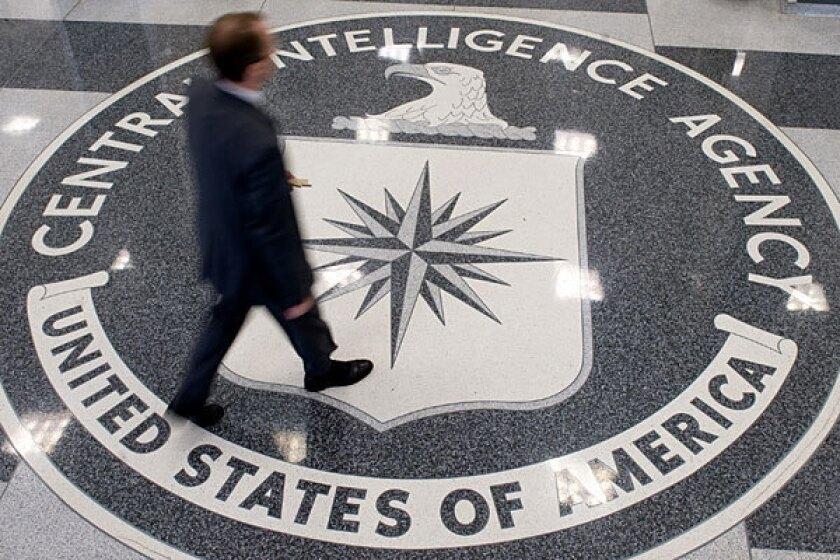 Inside CIA headquarters in Langley, Va.