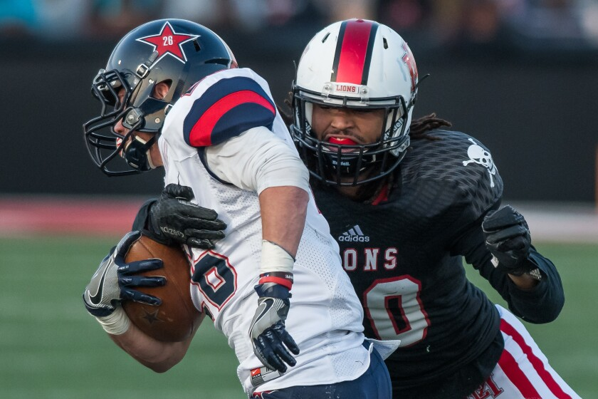 """Linebacker Dakota Allen gained prominence on Netflix """"Last Chance U"""" that documented his time at East Mississippi C.C."""