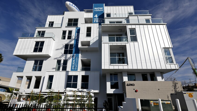 C1 apartment complex by California Landmark Group near Marina del Rey, Calif.