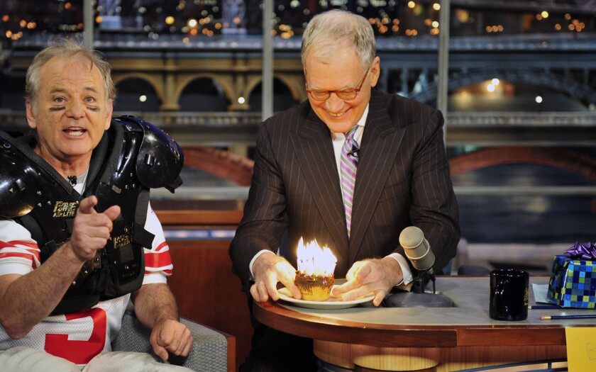 Bill Murray; David Letterman