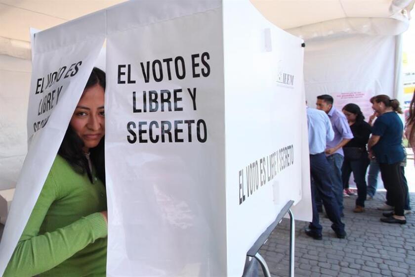 El Senado mexicano eligió hoy a Héctor Marcos Díaz Santana como titular de la Fiscalía Especializada para la Atención de Delitos Electorales (Fepade), en sustitución de Santiago Nieto, removido del cargo a escasos meses de los comicios más grandes de la historia. EFE/ARCHIVO