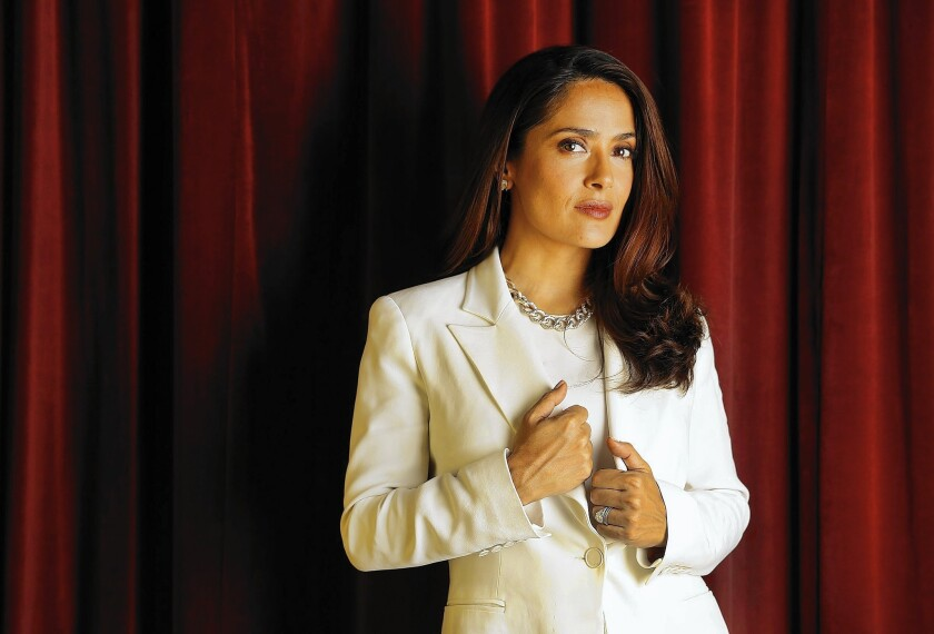 "Salma Hayek produced and voices a character in ""Kahlil Gibran's The Prophet,"" an animated film. She remembers a copy of the Lebanese poet's book of verse and philosophy being on her grandfather's side table when she was young."