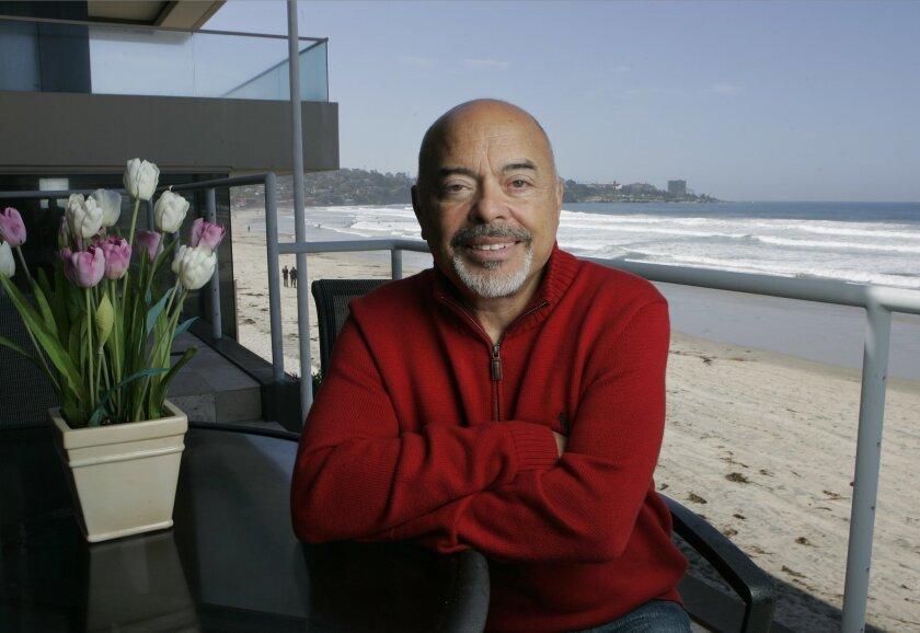 """Secret Millionaire"" Marc Paskin at his beachfront home in La Jolla."