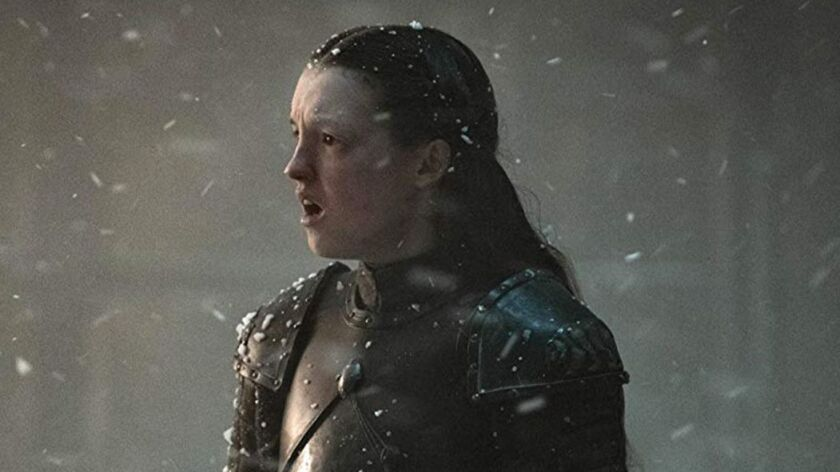 'Game of Thrones' actress talks about Lyanna Mormont's fight with the giant