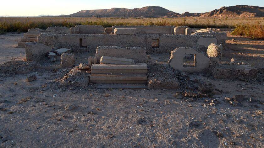 St. Thomas Ghost Town In Lake Mead Remains Exposed As Drought Continues